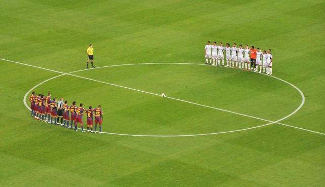 Deux équipes de foot