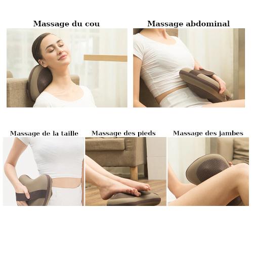 Pour un massage shiatsu des cervicales