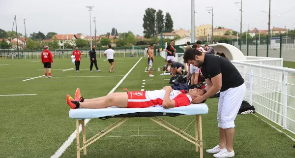 L'osteopathie dans le football