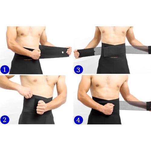 ceinture pour le bas du dos