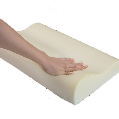 oreiller ergonomique cervical en fibre de bambou