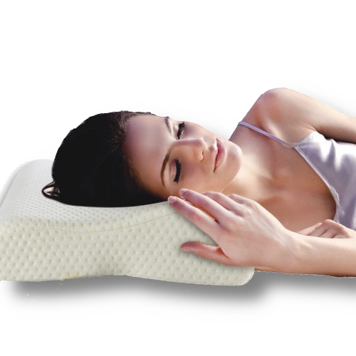 oreiller de forme pour cervicales