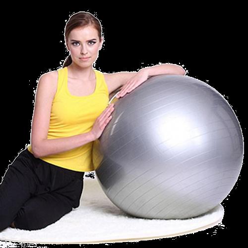 Ballon gym pour lutter contre les douleurs dorsales