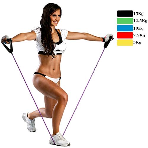 Elastiques de musculation pour renforcer musculaire le dos en toute douceur