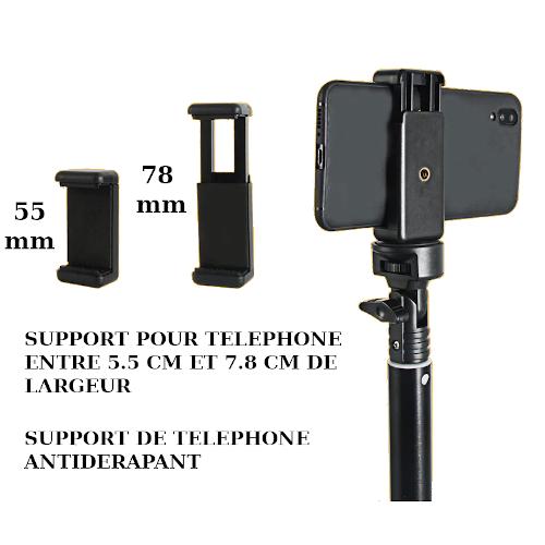 Trepied pour telephone portable